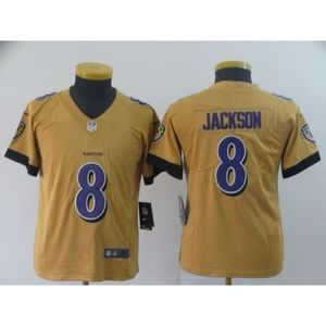 Youth Baltimore Ravens Lamar Jackson Jersey